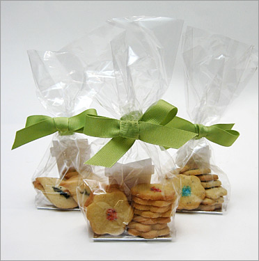 butter cookie wedding favors the sugar syndicate chicago