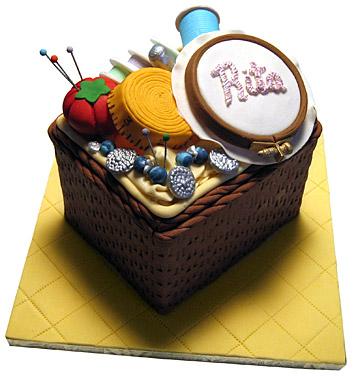 The Sugar Syndicate Birthday Cake